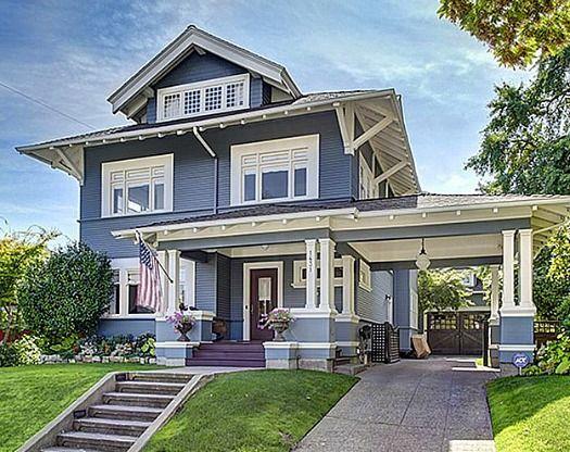 An updated capitol hill classic for sale in seattle for New craftsman style homes for sale