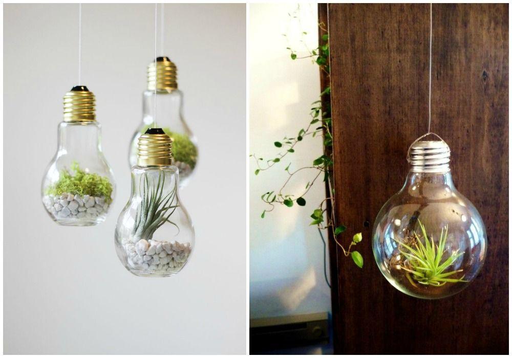Ideas para convertir bombillas en preciosos objetos de - Bombillas decoradas ...