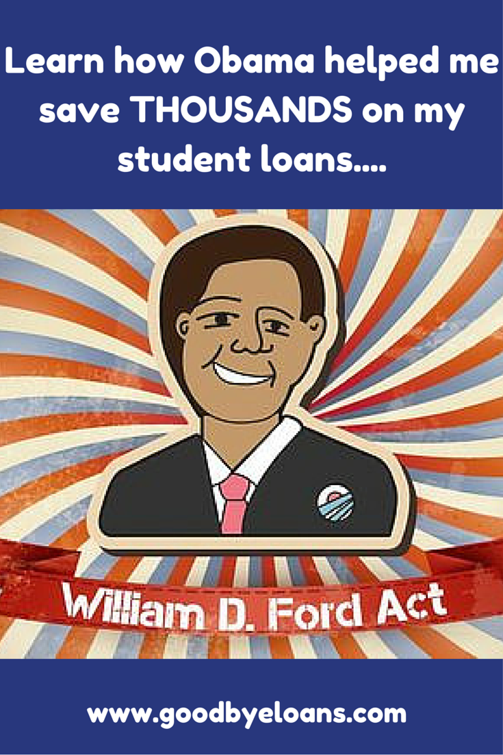 "I'd heard the term ""Obama Student Loan Forgiveness"" but I had no idea what it meant. I've been struggling to pay my loans for YEARS now and could have been enrolled in one of these income-based programs all along. I had no idea I qualified for loan forgiveness but I'm so happy I do now. I still can't believe I'm being forgiven $19,920 in student loans. Find out if you qualify for these life-changing programs at www.goodbyeloans.com"
