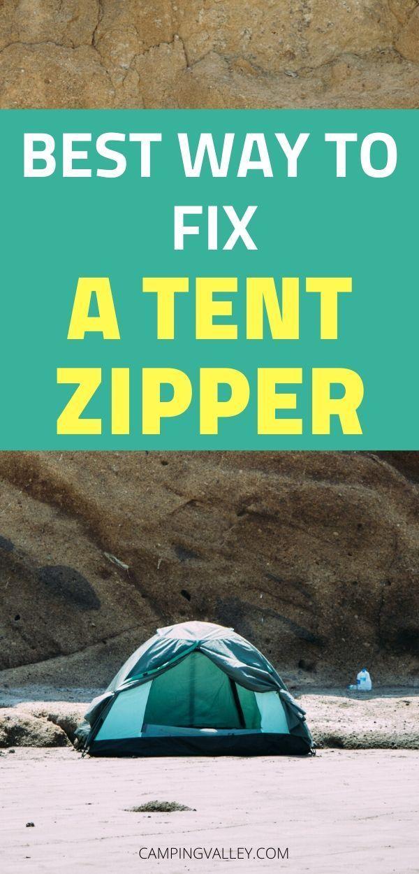 Photo of Fix A Tent Zipper Like A Pro
