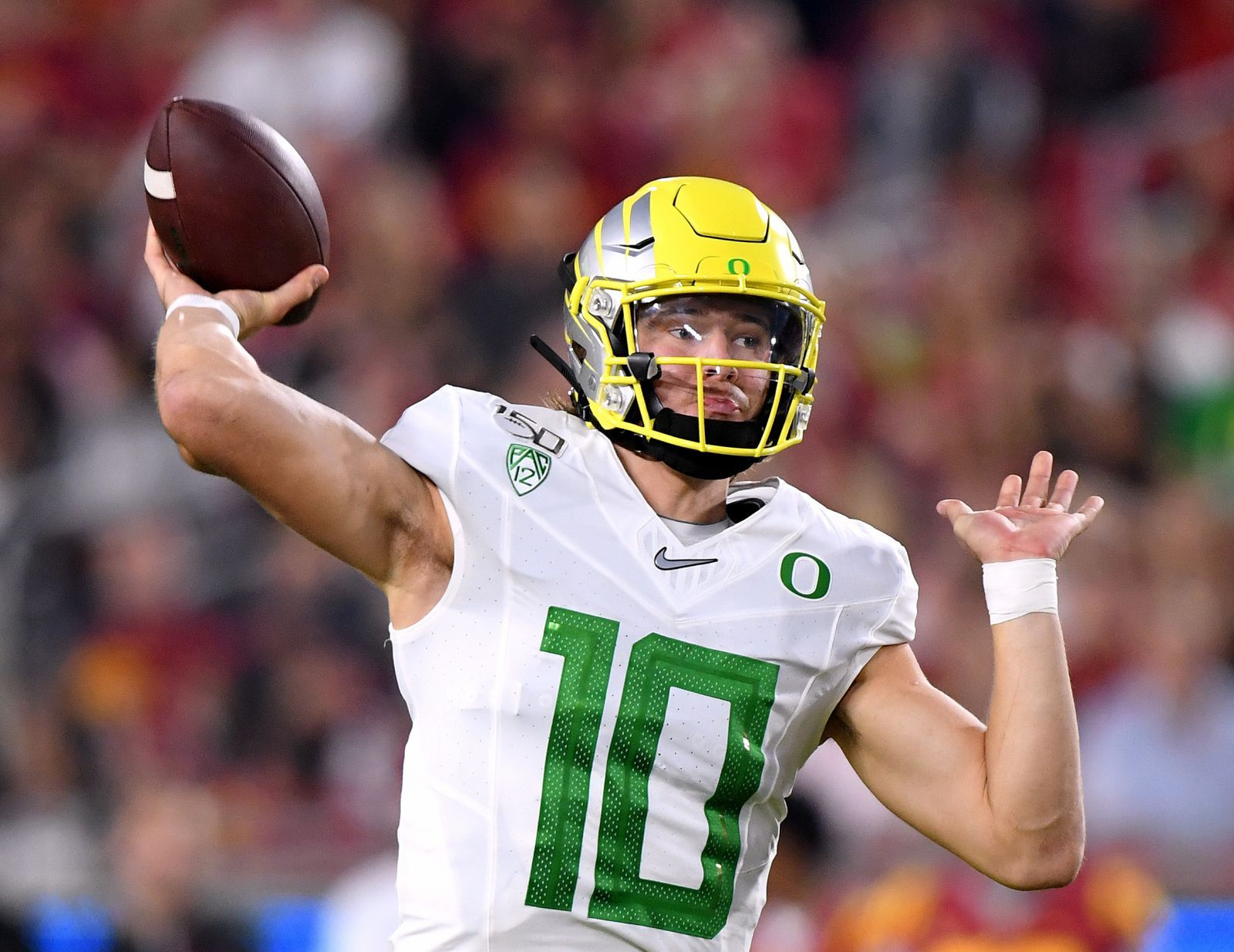 2020 Nfl Draft Justin Herbert Gaining Steam As The Qb1 National Football League News Oregon Ducks Quarterback Ju Nfl Draft National Football Oregon Football