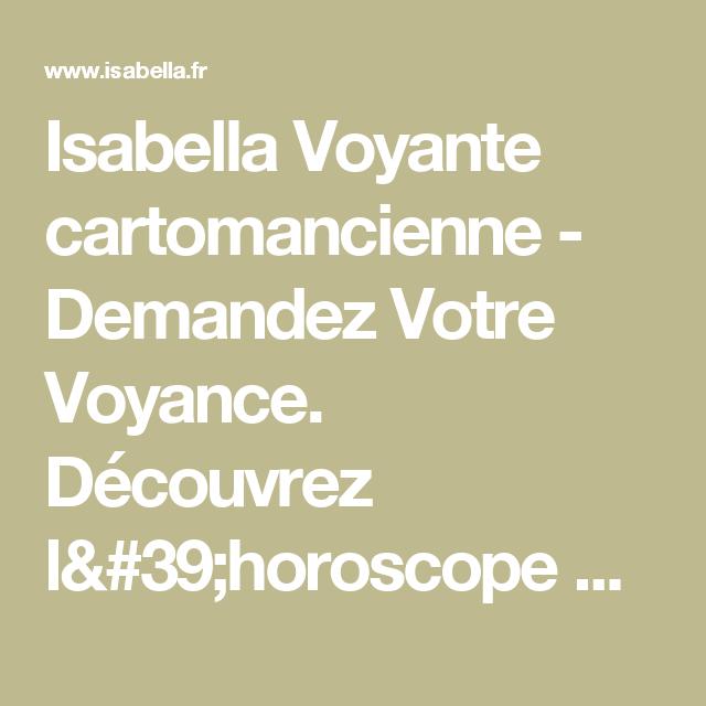 4e056aefdbfe42 Isabella Voyante cartomancienne - Demandez Votre Voyance. Découvrez l  horoscope du jour. Tirage