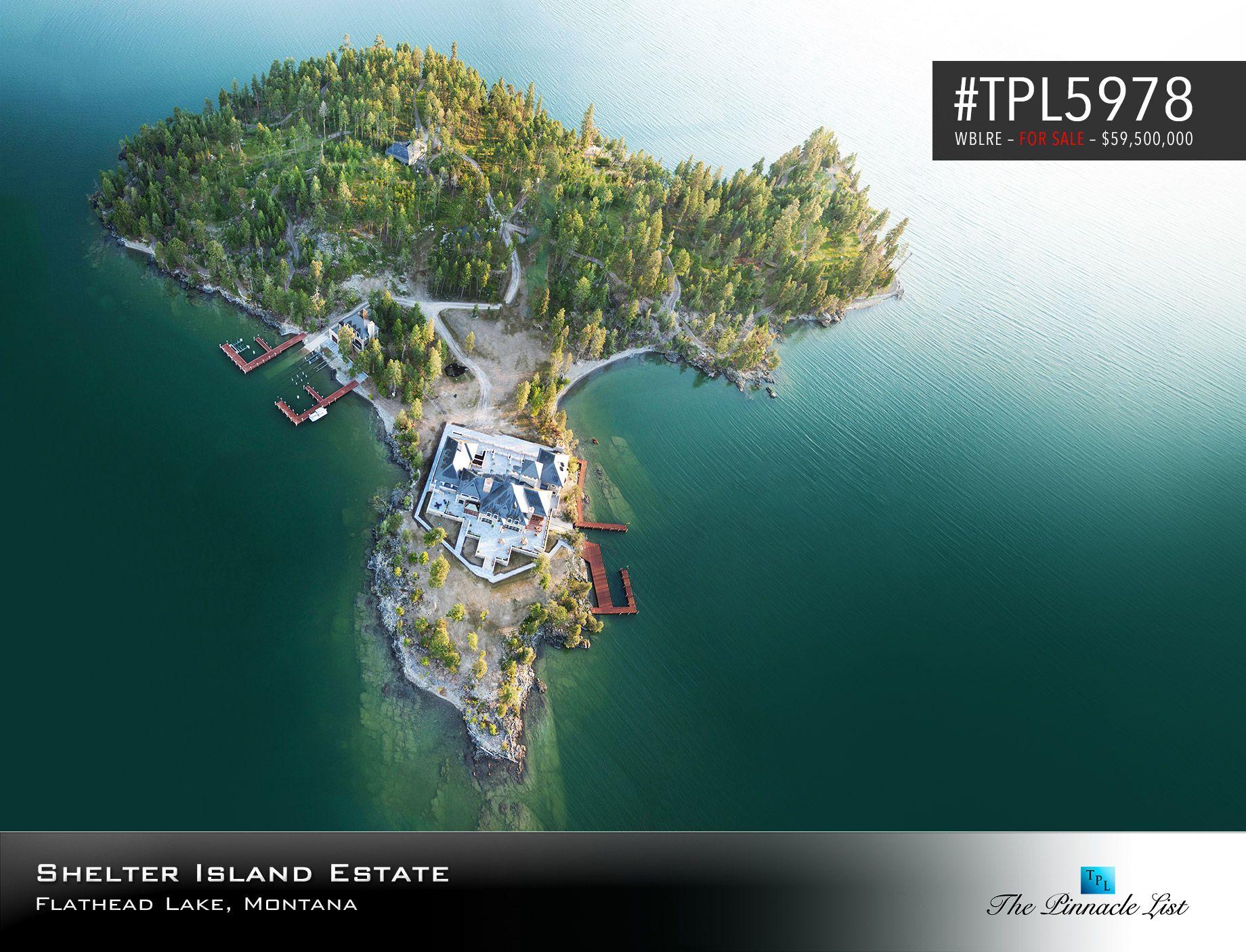 montana lake mansion for sale | Shelter Island Estate – Flathead ...