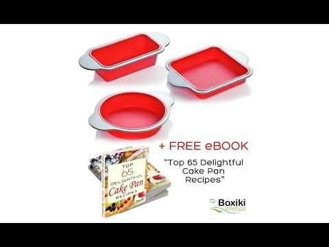 Boxiki Kitchen Silicone Pan Bakeware Set Review Silicone Pan