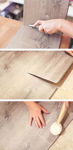 DIY Luxury Vinyl Flooring