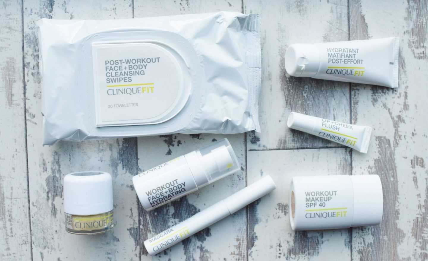 NEW CLINIQUEFIT COLLECTION Workout makeup, Cleansing