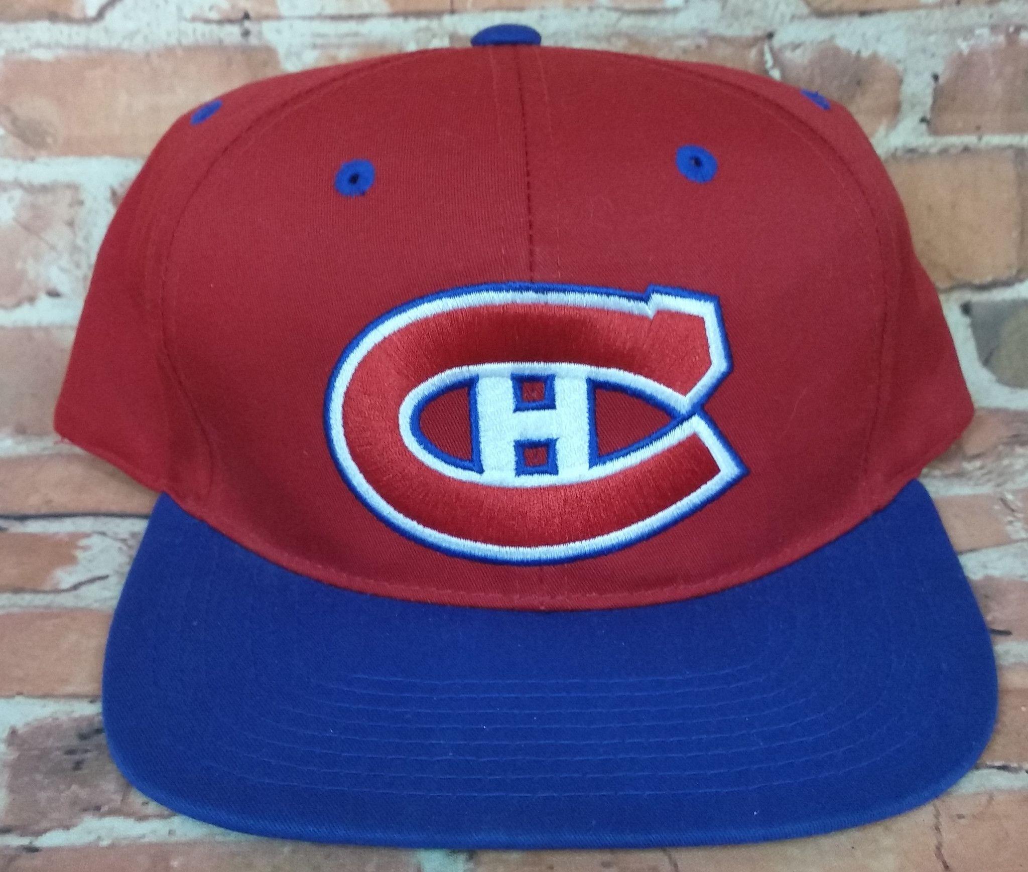 ... ireland montreal canadiens vintage snapback sports specialties plain  logo hat nhl rare 941df 9dd78 ... b19571d73