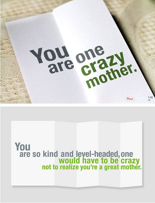These funny greeting cards look somewhat insulting at first glance these funny greeting cards look somewhat insulting at first glance but cheerfully say the opposite when folded out here are some ideas continue m4hsunfo
