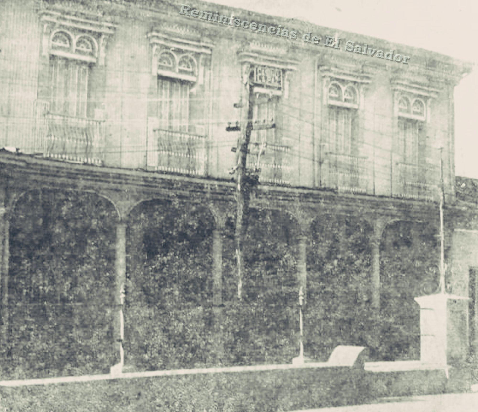 Antiguo Casino de Zacatecoluca, En este edificio José Simeón Cañas y ...