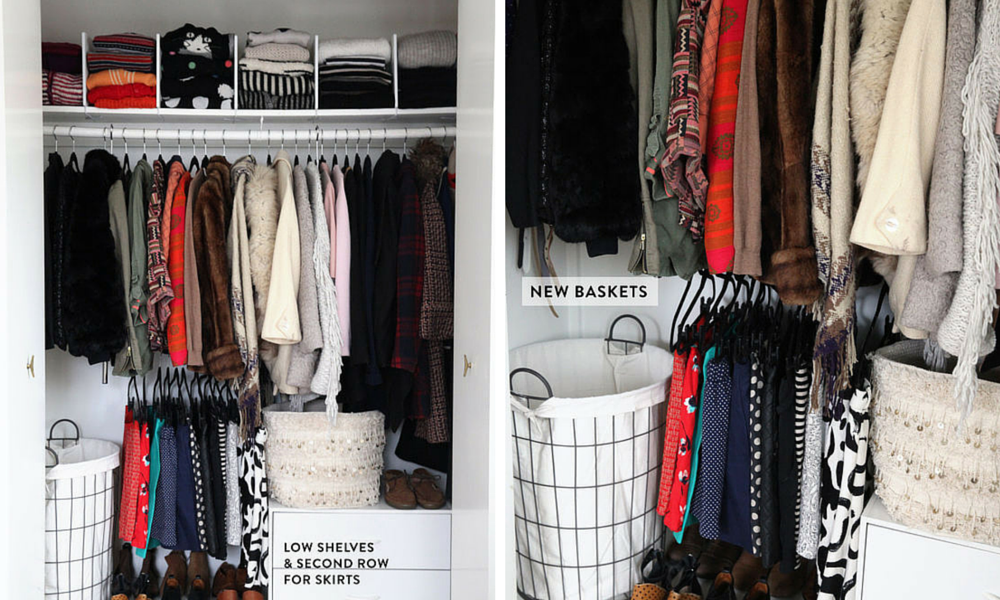 20 astuces pour ranger son dressing | Organizations and Organizing