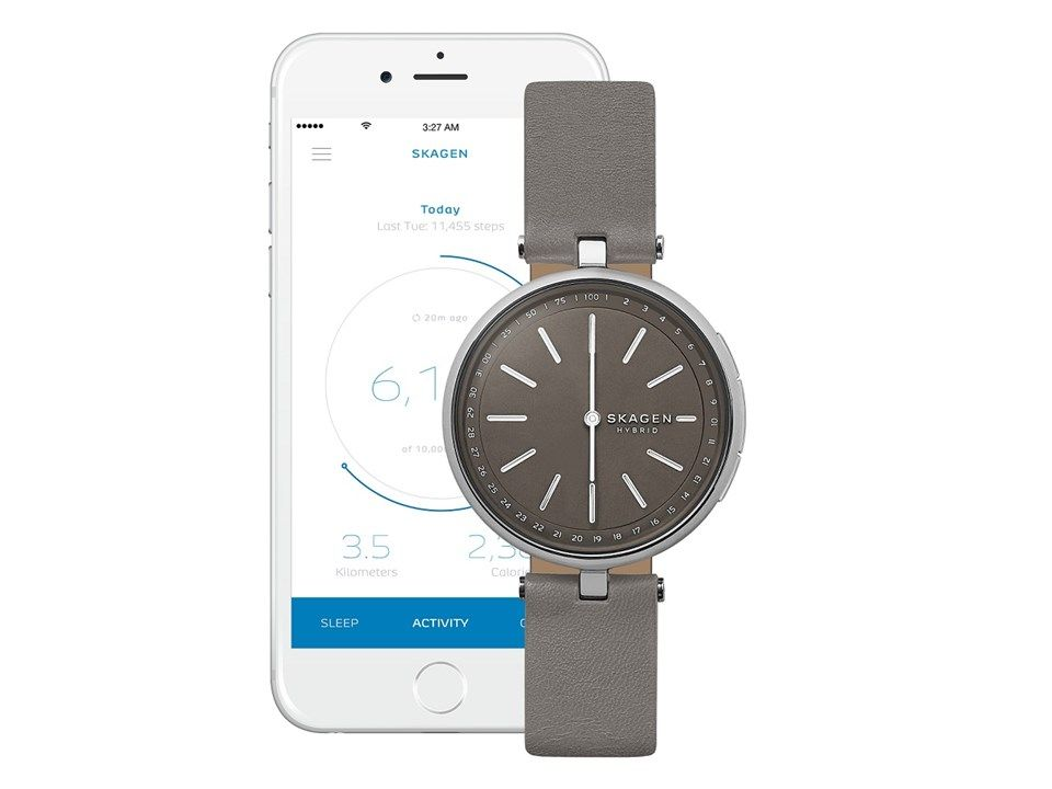 Skagen Skt1401 The Signatur Connected Hybrid Smartwatch W05110
