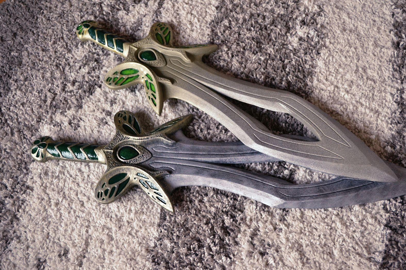 Dota 2 Butterfly Swords Handmade Replicas Real Life