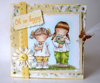 Janes Lovely Cards : Lovely hAnglar Only Challenge DT - Spring Has Sprung