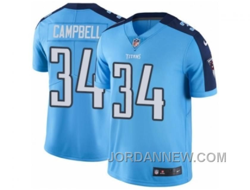 youth nike tennessee titans 34 earl campbell limited light blue rush nfl jersey super deals price 23