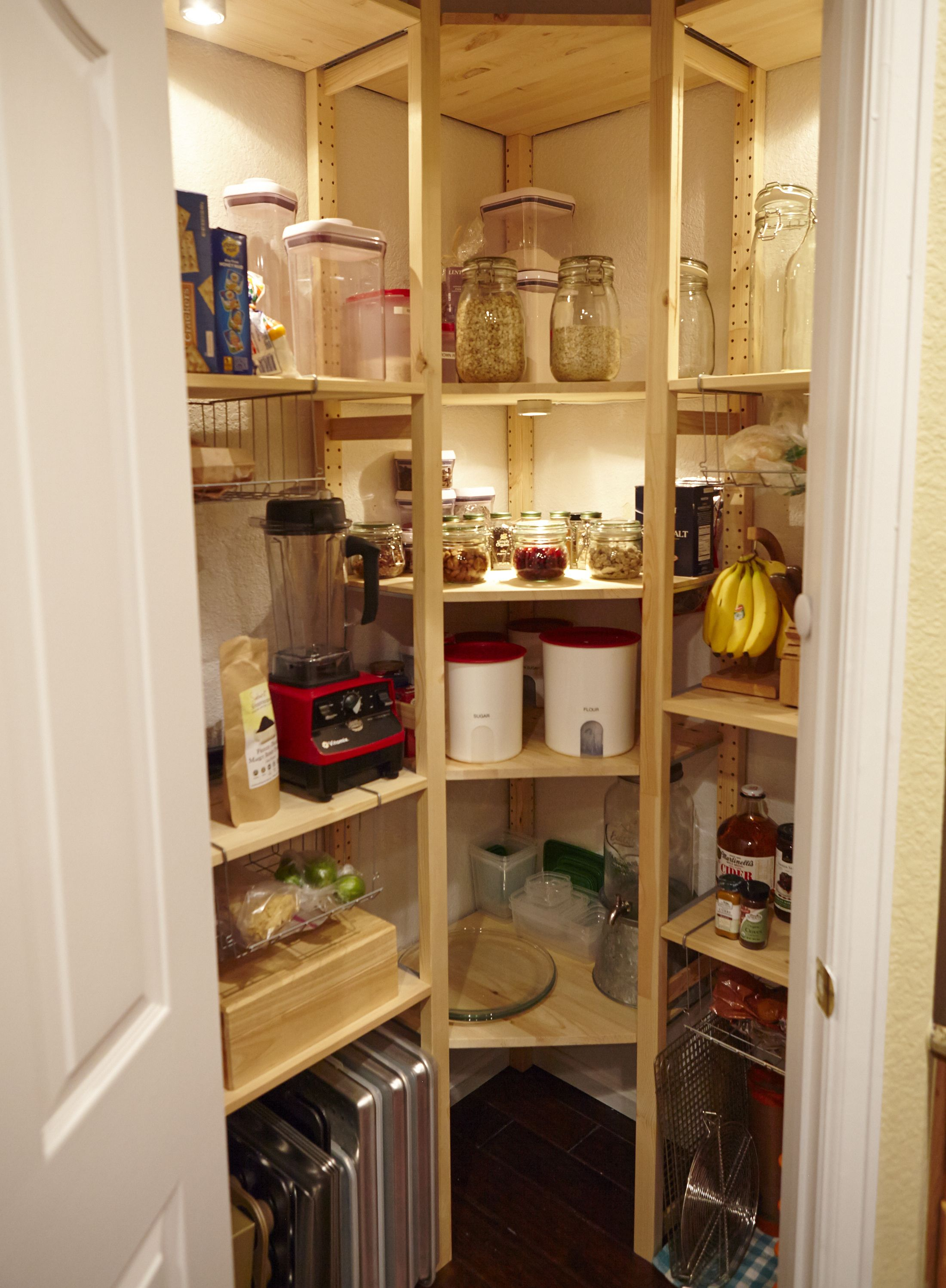 Ikea Ivar Built In Pantry All Components Purchased Separately