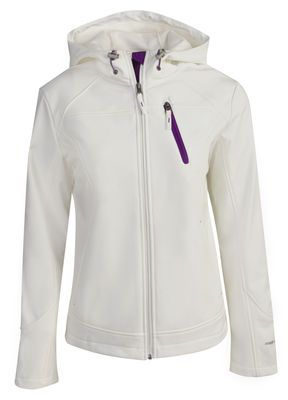 Women's Wanderer Softshell Jacket in Whisper White from #Free_Country