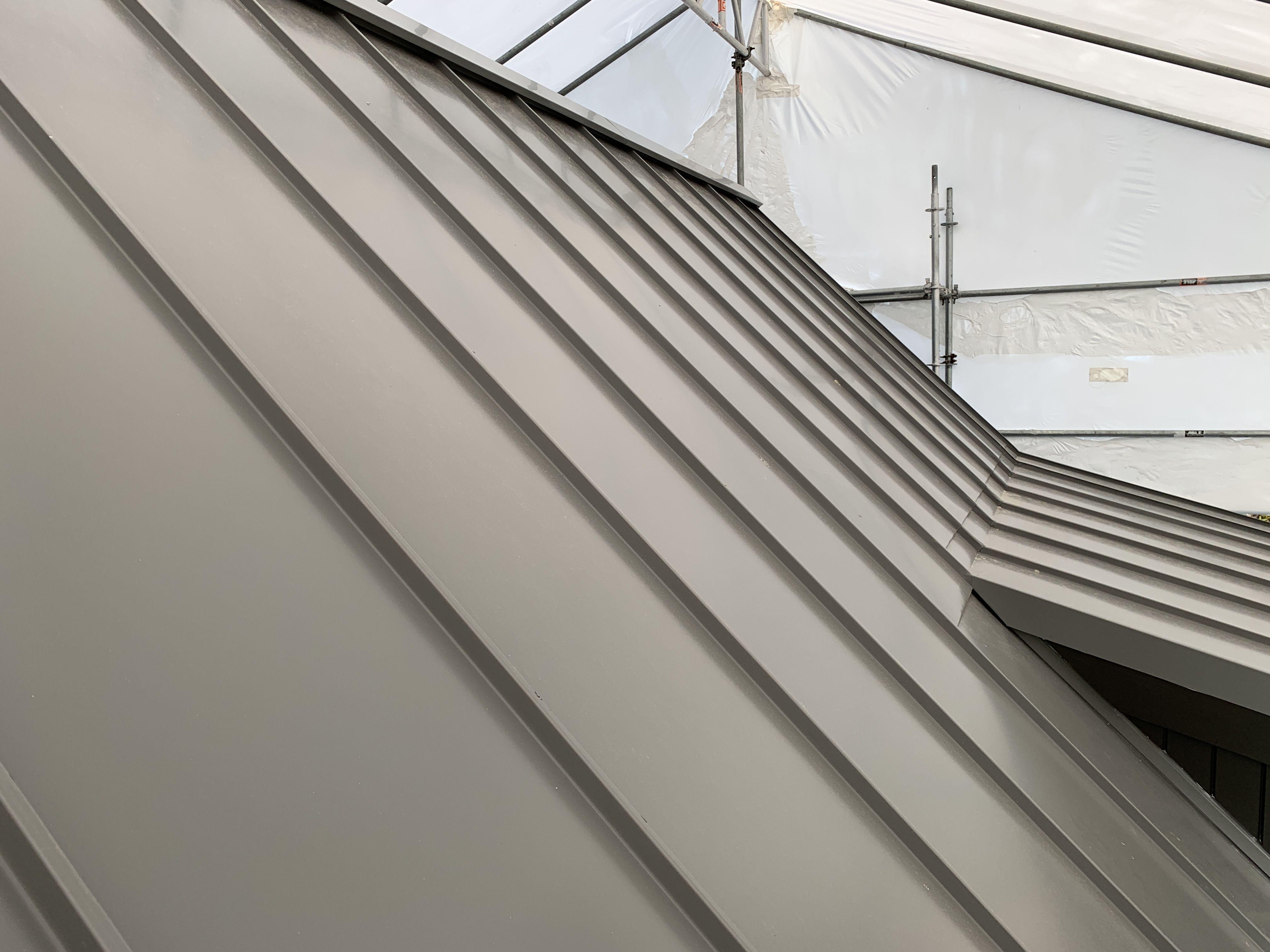 Standing Seam Euramax Aluminium Roof Aluminum Roof Standing Seam Roof