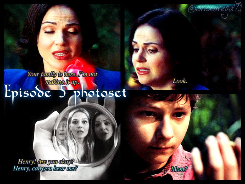 Emma, Regina & Henry episode 5 (my edit)