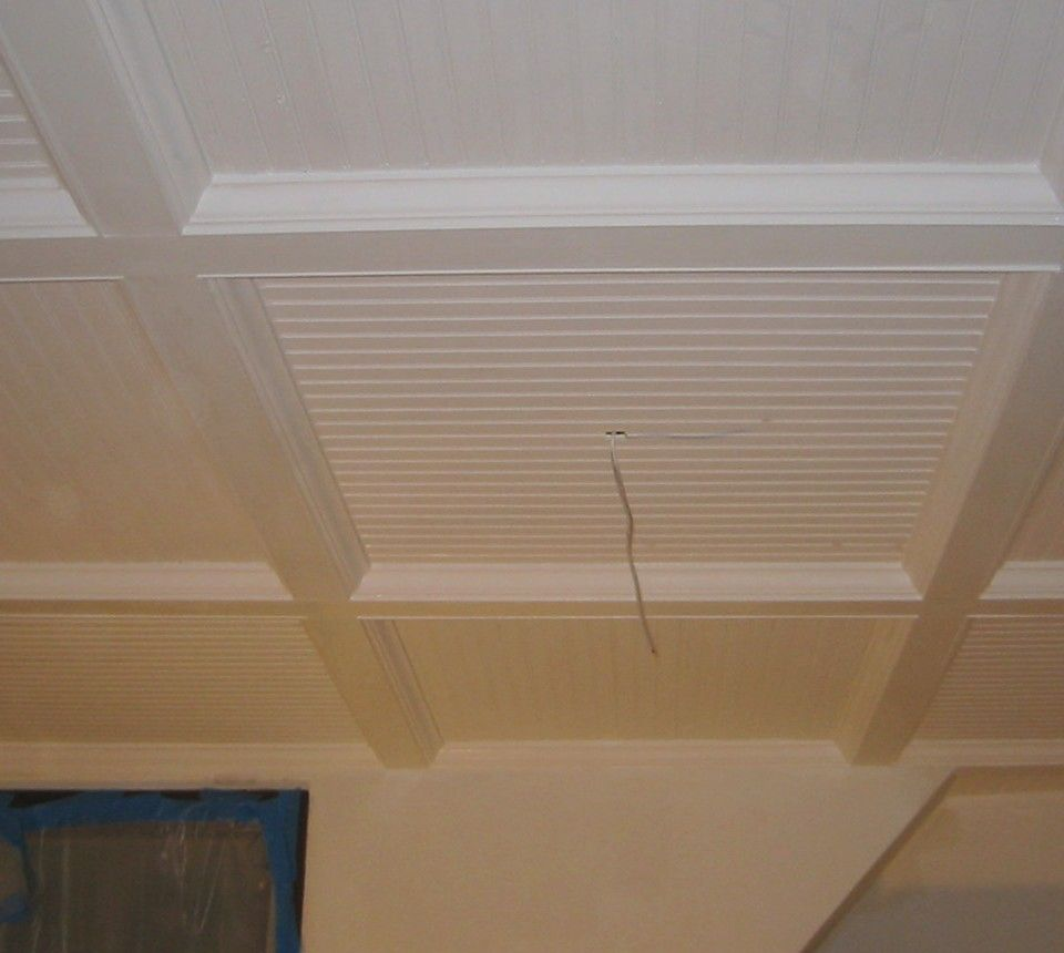 With The Presence Of This Ceiling You Will Realize That The Appearance Of Your Low Ceiling Low Ceiling Basement Basement Ceiling Ideas Cheap