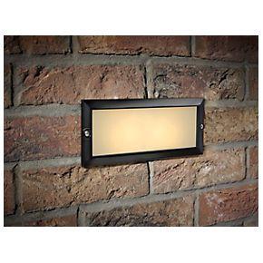 Black Brick Light Screw Fix Brick Black Brick Light