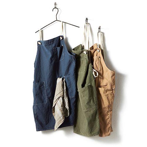 古着屋さんで見つけたような シンプル丈夫 職人さんのエプロンの会(3回限定コレクション)