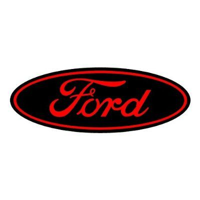 Ford Black And Red Replacement Decal Sticker 6 Piece Set 58 X 1 3