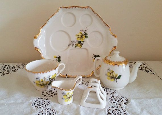 Royal Winton Breakfast Set China Tea Service by darcyelizavintage