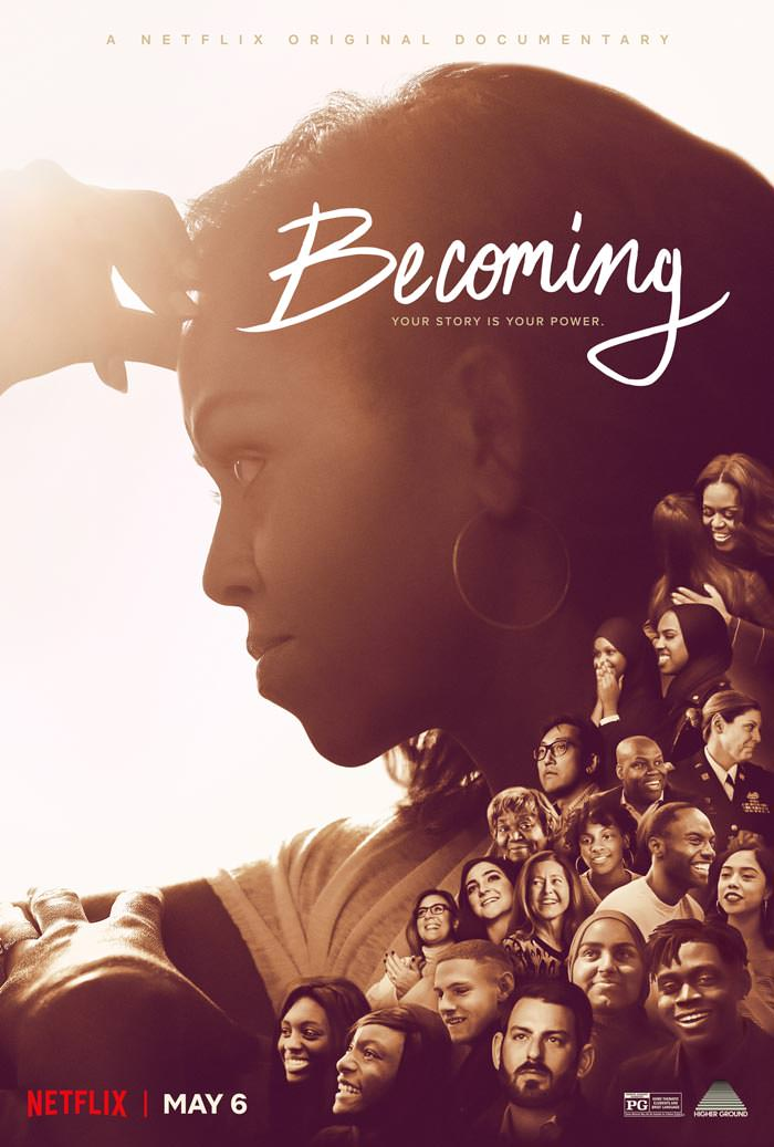 Michelle Obama S Becoming Official Trailer And Key Art With A Note From Michelle Tom Lorenzo In 2020 Documentary Movies Documentaries Michelle Obama