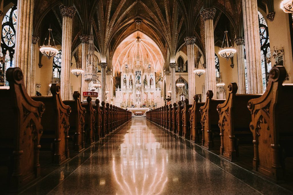 A wedding at The Whitney Detroit & Sweetest Heart of Mary