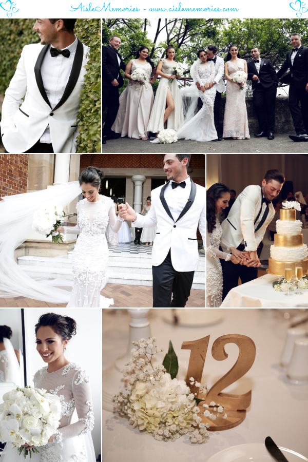 GabriellaJordan WeddingInterContinental Sydney Double