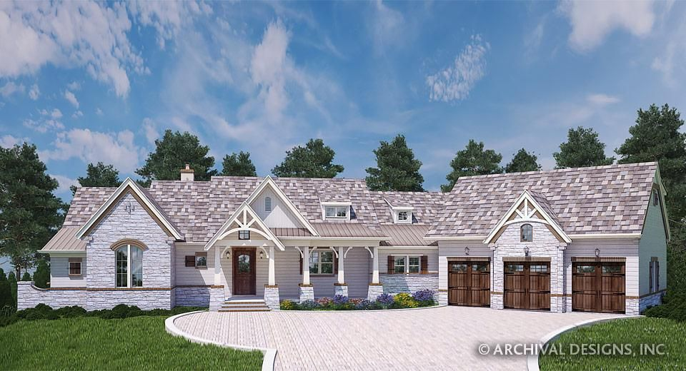 Balsam Mountain Lodge Rustic House Plans Luxury Home Plans Archival Designs Rustic House Plans Ranch House Plans Cottage House Plans