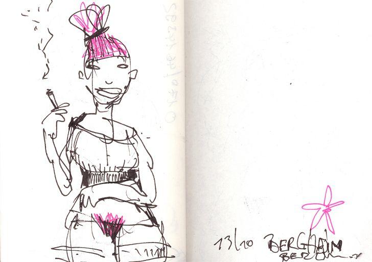Sketch (2012) by Felix Scheinberger
