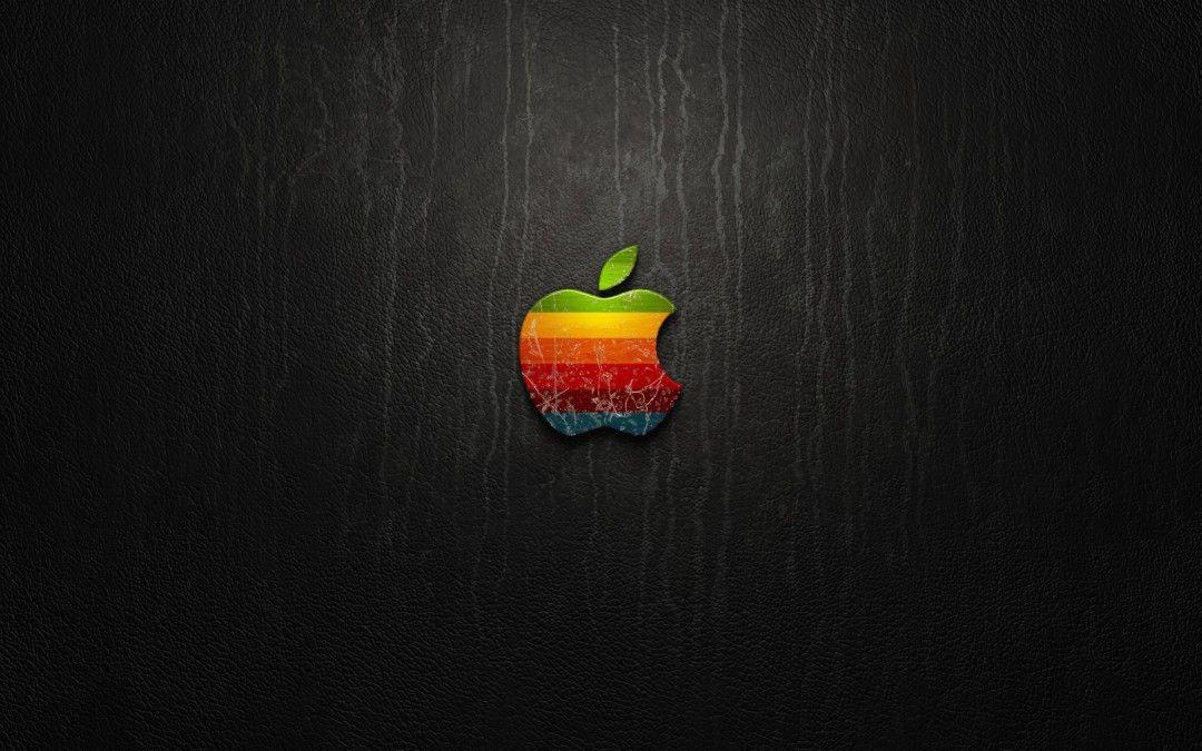 Creative Retro Apple Logo Wallpapers Hd Wallpaper Mac DesktopDesktop