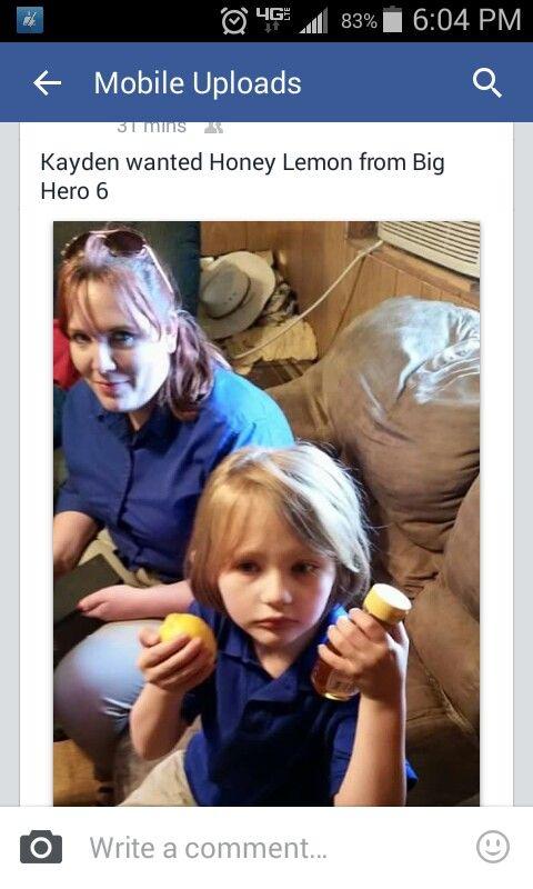 What, she asked for honey lemon?