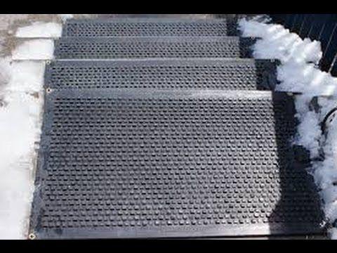 Heated Floor Mats In Floor Heating Mats At Home Depot Youtube Heated Floor Mat Heated Floors Heat Mat