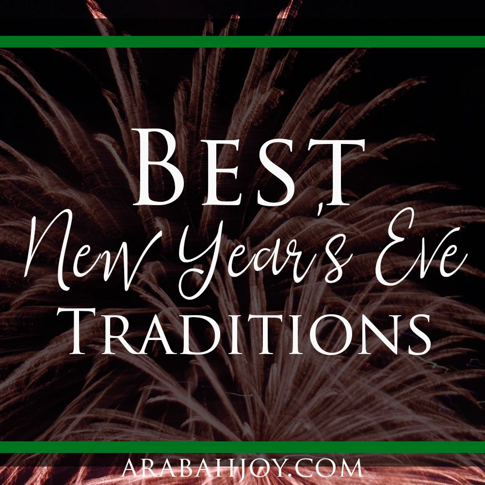 8 Fabulous New Year's Eve Family Traditions New years