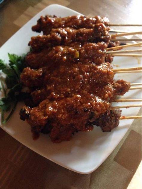 Resep Sate Daging Bumbu Pedas By Lilis Ruli Makan Malam Resep Masakan Resep