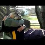 """U.S. Soldier, Home from Deployment, Surprises His Mom, Brother & Girlfriend  