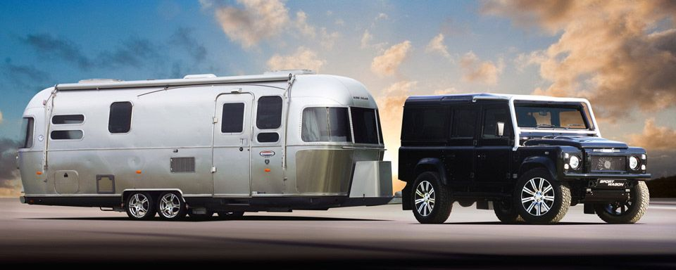 So great  Land Rover and Airstream  | Sporting