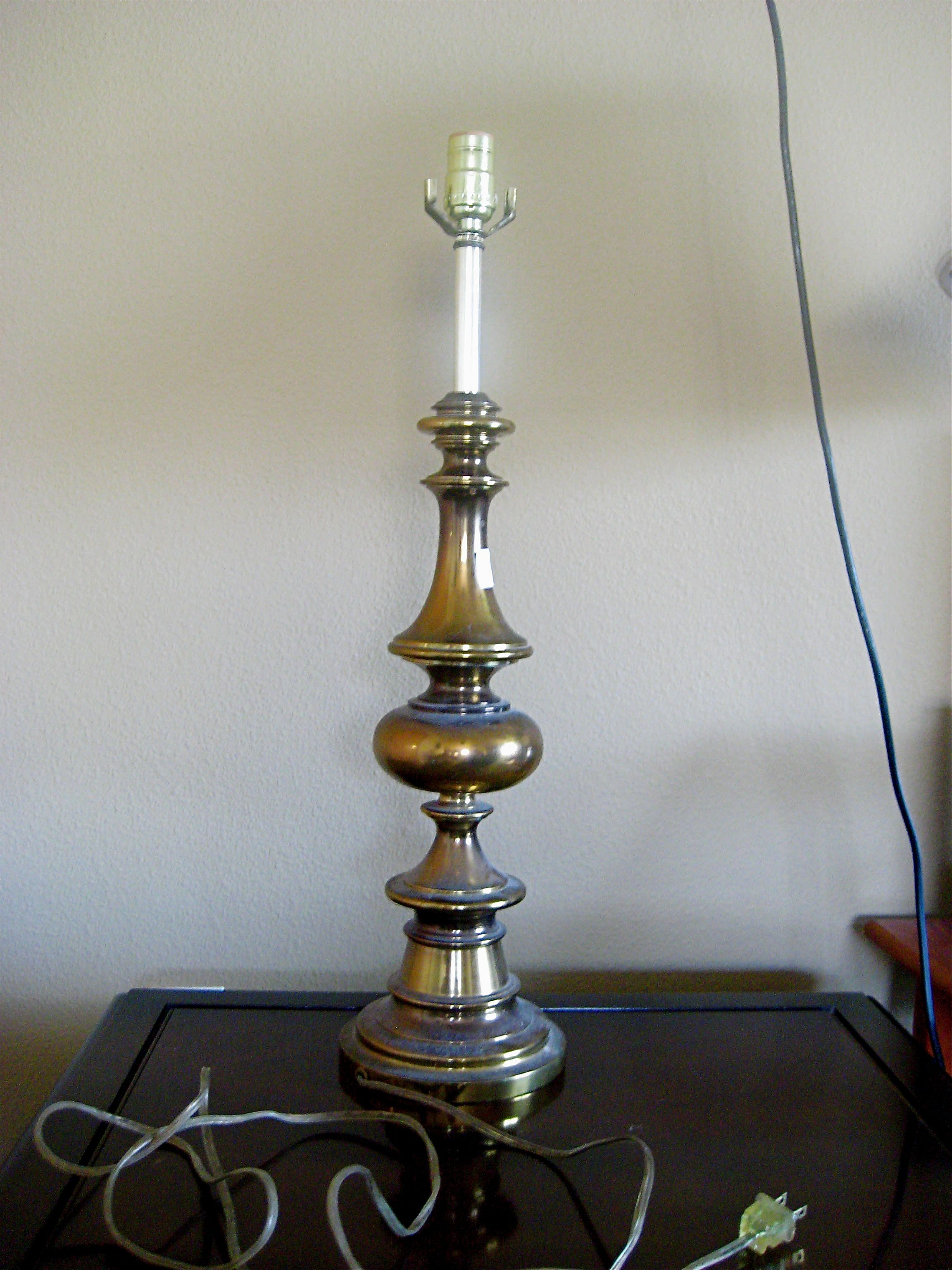 Superior How To Paint A Brass Lamp