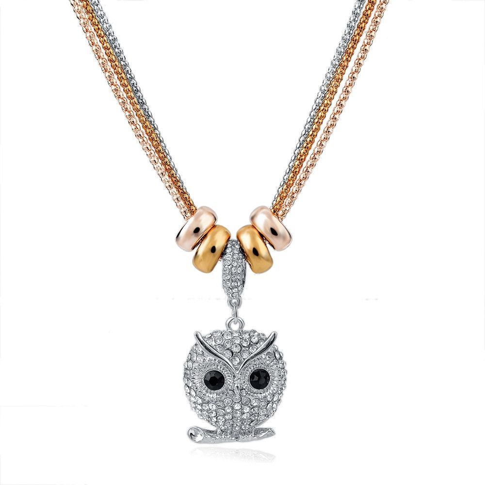 New design necklace pendant gold silver chain long necklace full new design necklace pendant gold silver chain long necklace full rhinestone ball pendant necklace for aloadofball Image collections