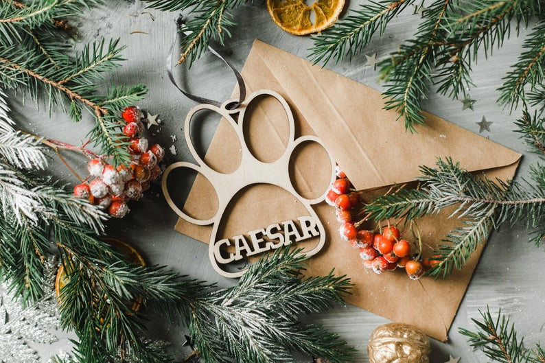 Pet Name Ornament Christmas Ornaments To Make Xmas Tree Decorations Christmas Tree Toy