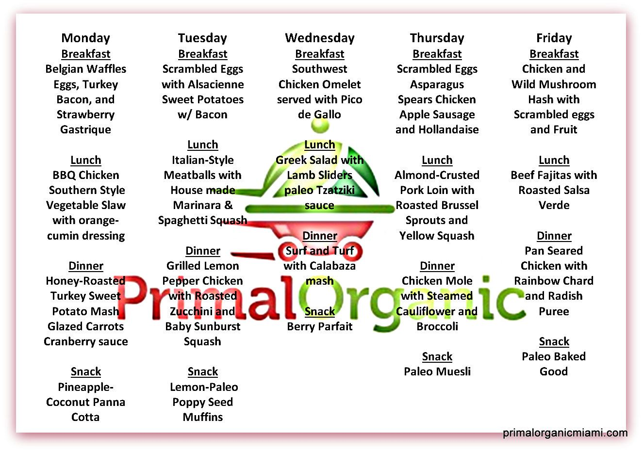 5 day paleo meal plan paleo primalorganic healthy diet delivery fresh healthy diet plan and meal delivery in miami dade low carb gluten free paleo diet and keto diet malvernweather Choice Image
