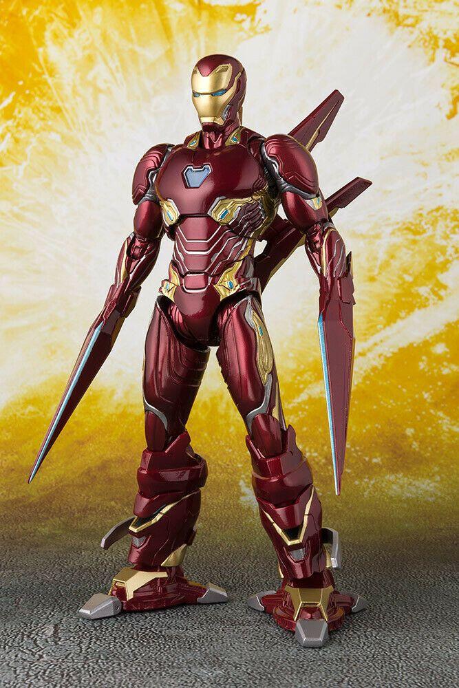 Ebay Sponsored Bandai Aiw Iron Man Mk50 Nano Weapon Shf Set Action Figure Marvel Avengers Armure Iron Man Iron Man
