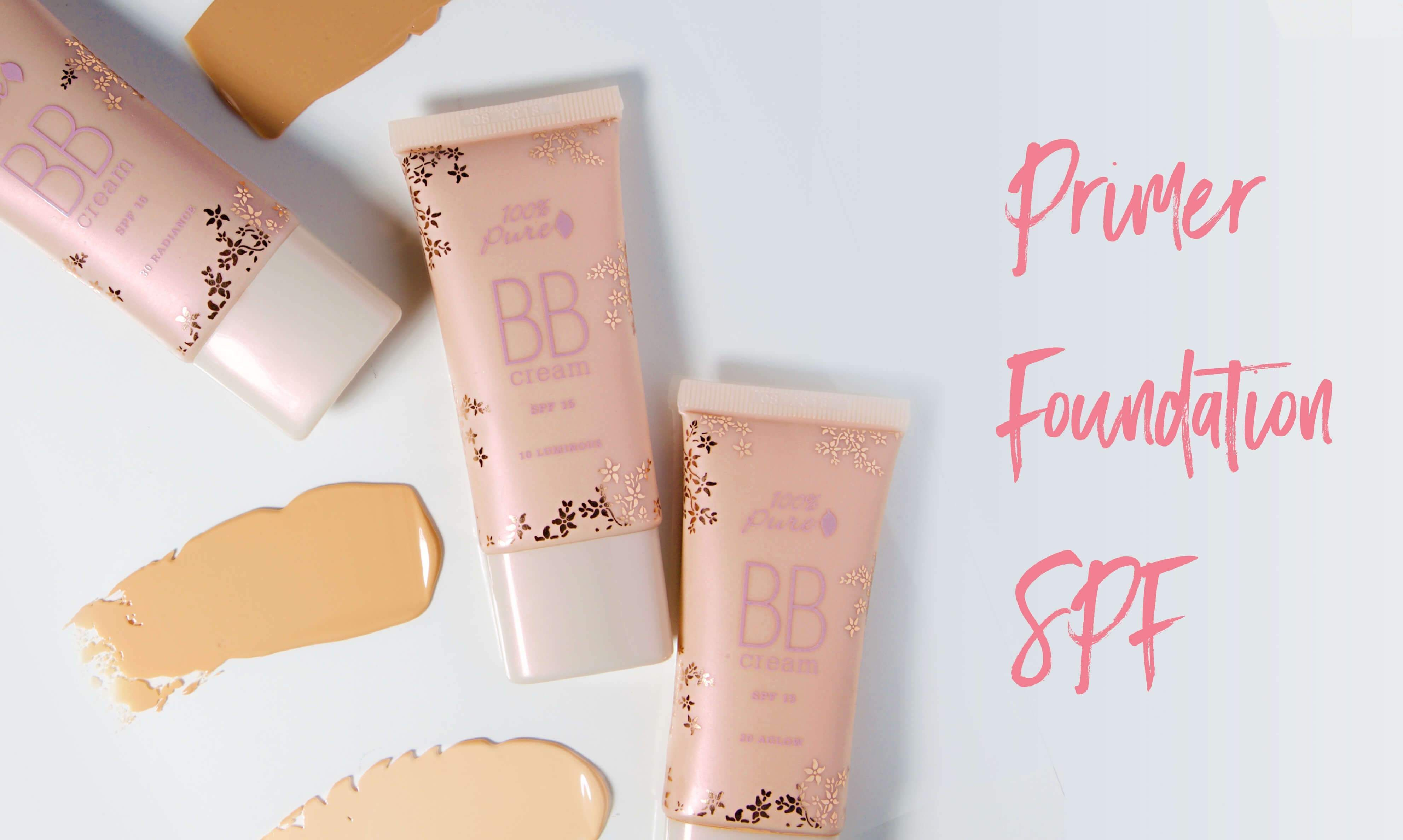 100 PURE BB Creams Naturalbeautyproducts Simple makeup