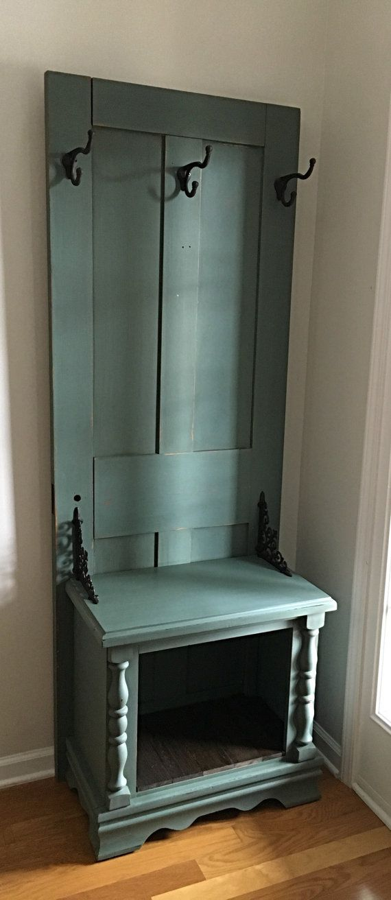 SOLD Old Door Halltree Mudroom Storage