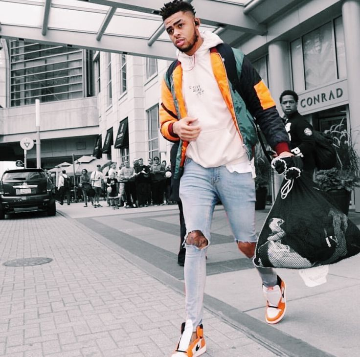D'Angelo Russel (Lakers Player) | Men's Street Style | Street ...