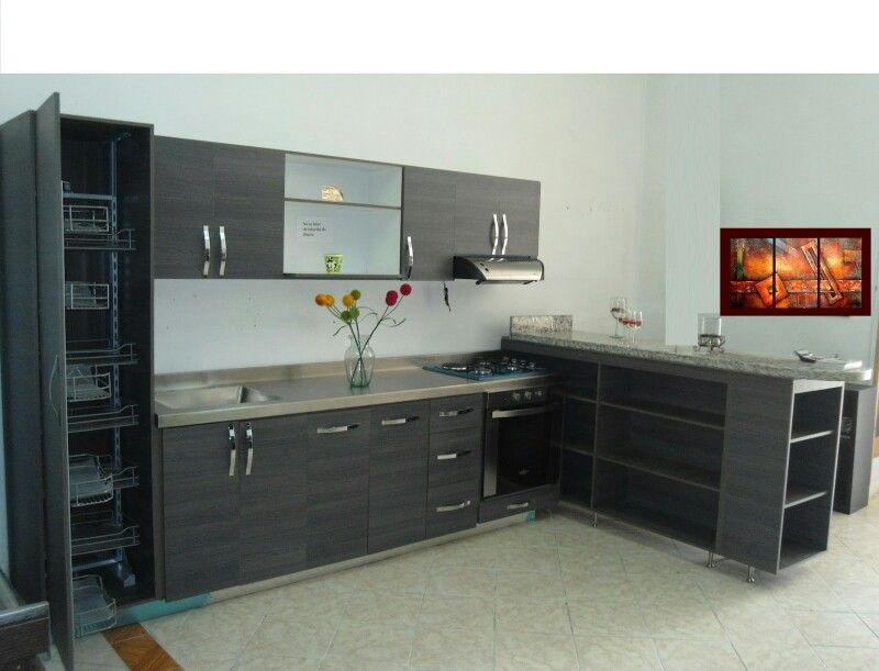 Cocina moderna cocinas pinterest smallest house for Cocinas italianas modernas