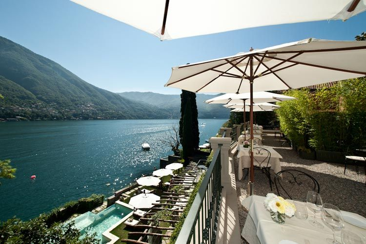 Relais Villa Vitoria, Lake Como, Italy Thanks to this hotel's location by celeb-friendly Lake Como, it's tailor-made for stylish, romantic getaways. Some rooms have terraces, making the most of that lakeside location, while the outdoor infinity pool also has a scenic view. Explore the nearby mountain trails, hop between lakeside villages, and take a boat across the lake to Comacina Island.