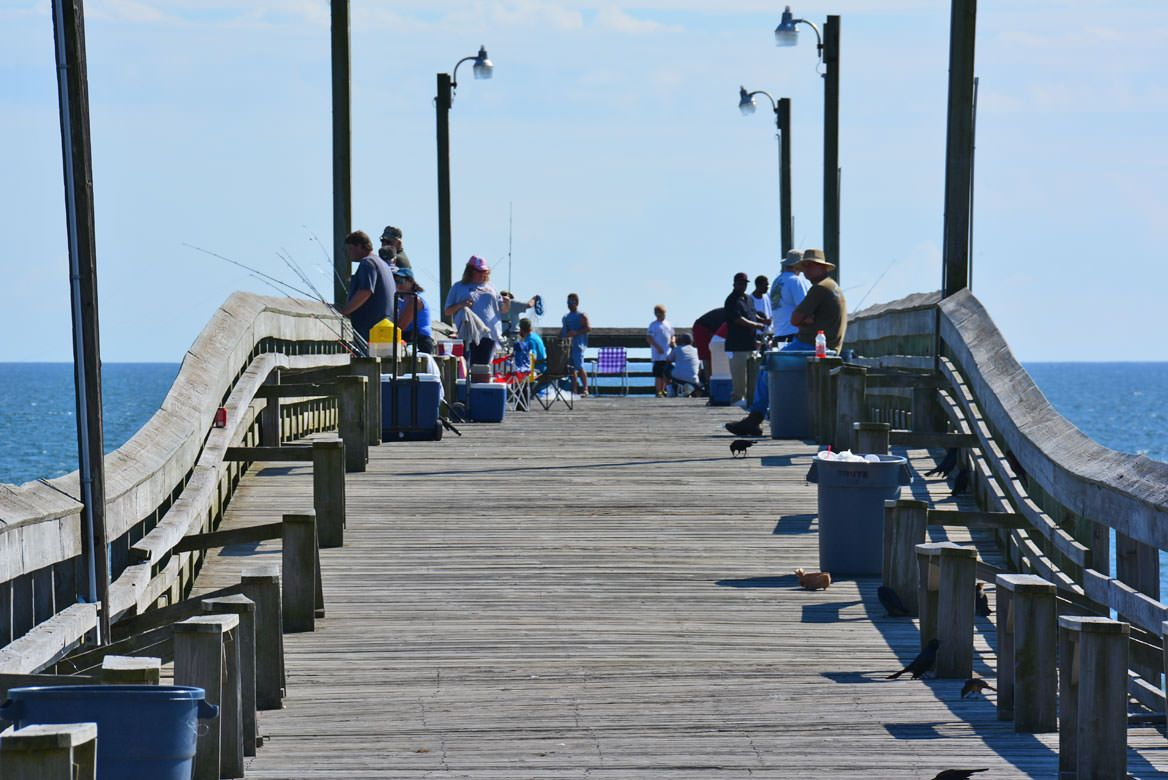 Holden Beach Fishing Pier Places Ive Been Peach Fly